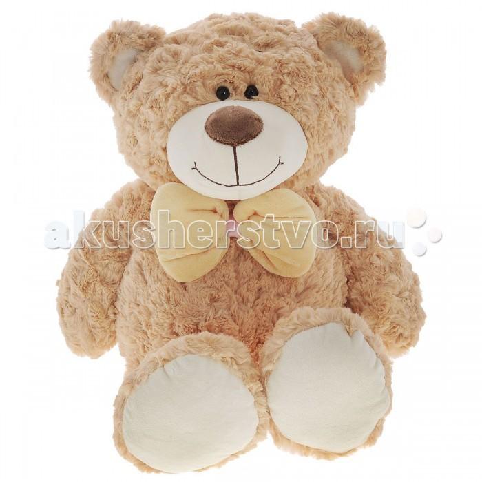 Мягкая игрушка Plush Apple Медведь 50 смМедведь 50 смМедведь 50 см.  С игрушкой можно придумать множество интересных сюжетов для игр, а также очень приятно засыпать вечером.   Игрушка изготовлена из экологически чистых материалов и не навредит ребенку.<br>