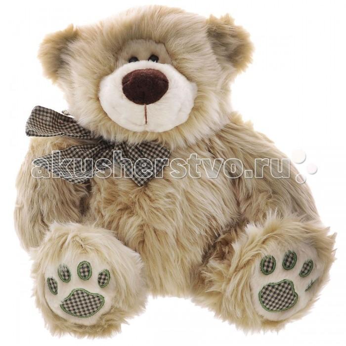 Мягкая игрушка Plush Apple Медведь сидящий с лентой 43 см