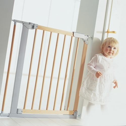 New baby safety gate toddler stairs protective fence pets barrier extension kits * aud 1857