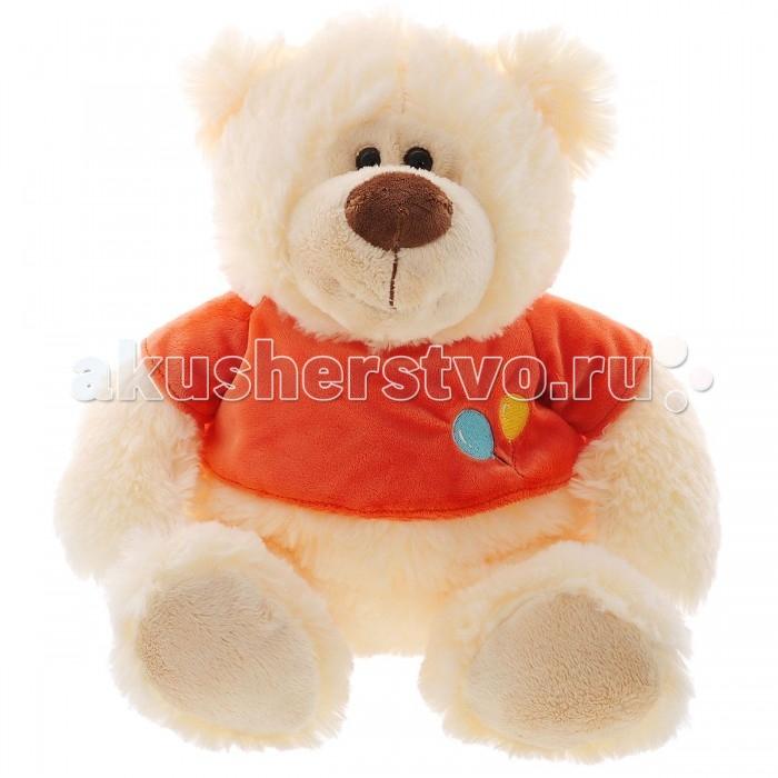 Мягкая игрушка Plush Apple Медведь в футболке 39 смМедведь в футболке 39 смМедведь в футболке 39 см.  С игрушкой можно придумать множество интересных сюжетов для игр, а также очень приятно засыпать вечером.   Игрушка изготовлена из экологически чистых материалов и не навредит ребенку.<br>