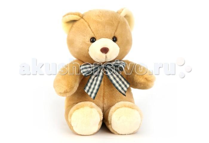Мягкая игрушка Plush Apple Медведь с бантом 45 смМедведь с бантом 45 смМедведь с бантом 45 см.  С игрушкой можно придумать множество интересных сюжетов для игр, а также очень приятно засыпать вечером.   Игрушка изготовлена из экологически чистых материалов и не навредит ребенку.<br>