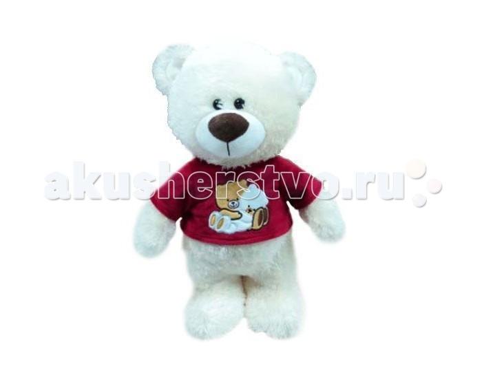 Мягкая игрушка Plush Apple Медведь в футболке 42 смМедведь в футболке 42 смМедведь в футболке 42 см.  С игрушкой можно придумать множество интересных сюжетов для игр, а также очень приятно засыпать вечером.   Игрушка изготовлена из экологически чистых материалов и не навредит ребенку.<br>