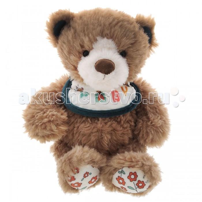 Мягкая игрушка Plush Apple Медведь с нагрудником 28 смМедведь с нагрудником 28 смМедведь с нагрудником 28 см.  С игрушкой можно придумать множество интересных сюжетов для игр, а также очень приятно засыпать вечером.   Игрушка изготовлена из экологически чистых материалов и не навредит ребенку.<br>