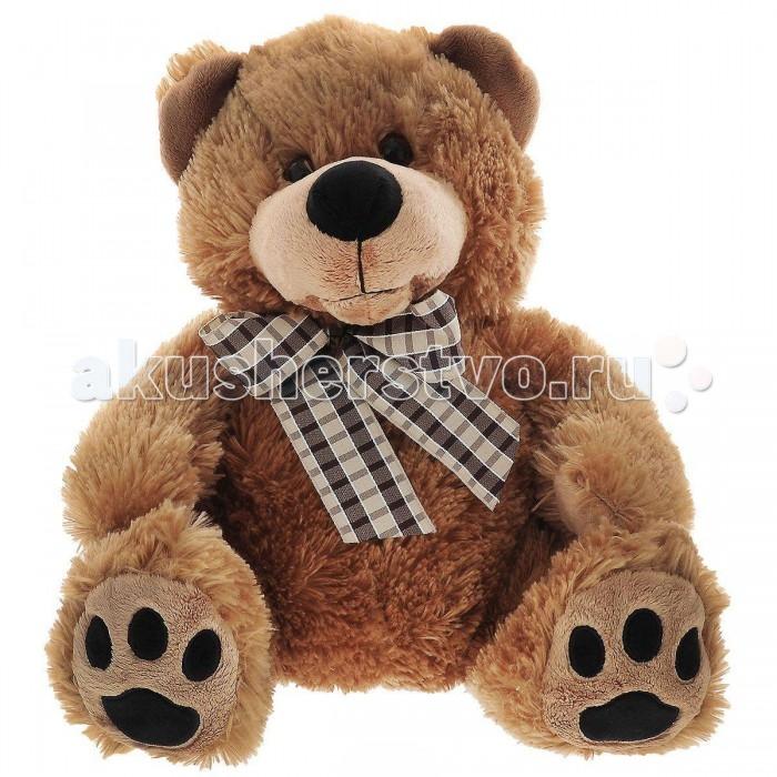 Мягкая игрушка Plush Apple Медведь с бантом 42 смМедведь с бантом 42 смМедведь с бантом 42 см.  С игрушкой можно придумать множество интересных сюжетов для игр, а также очень приятно засыпать вечером.   Игрушка изготовлена из экологически чистых материалов и не навредит ребенку.<br>