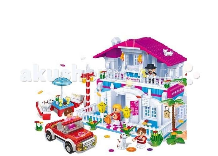 Конструктор BanBao Дом 552 деталиДом 552 деталиКонструктор Дом.  Данный игровой набор понравится любой малышке, которая сможет придумать множество разнообразных игр.   В наборе 552 детали. Конструктор рекомендован для детей старше 5 лет.<br>