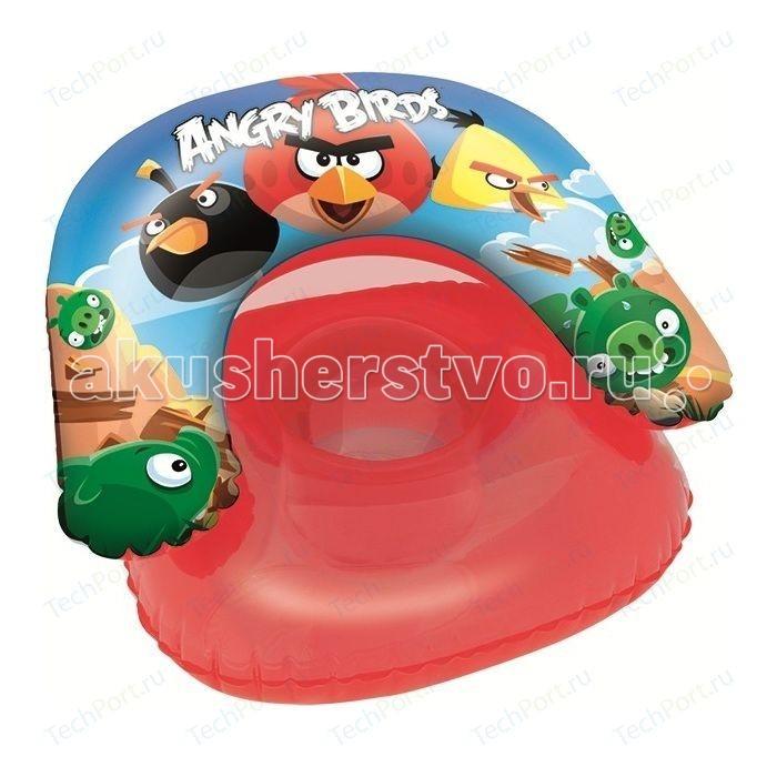 Bestway Надувное Детское Кресло Angry Birds 76х76 см