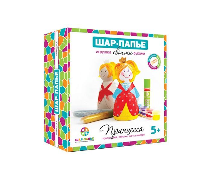 Шар-папье Набор Принцесса B01452Набор Принцесса B01452Шар-папье Набор Принцесса.  Подарки приятно не только получать, но и мастерить своими руками! С наборами Шар-папье ваш ребенок сделает свой первый шаг в мир искусства, создавая чудесные игрушки ручной работы. Творческий процесс заинтересует и взрослого, ведь возможности для декорирования авторских игрушек по-настоящему безграничны. А это значит, что наборы Шар-папье идеально подойдут для совместного семейного творчества и наполнят ваши домашние вечера новыми радостными впечатлениями.  Игрушки, которые вам предстоит сотворить, представляют собой объемные фигурки из папье-маше. Они уже почти готовы! Осталось самое интересное: склеить их из двух симметричных половинок и раскрасить по собственному эскизу.  В наборе: заготовки принцессы из папье-маше  вставки из гофрокартона контур фурнитура краски кисть клей подробная инструкция.<br>