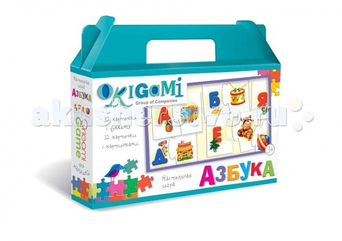 Origami Настольная игра Азбука