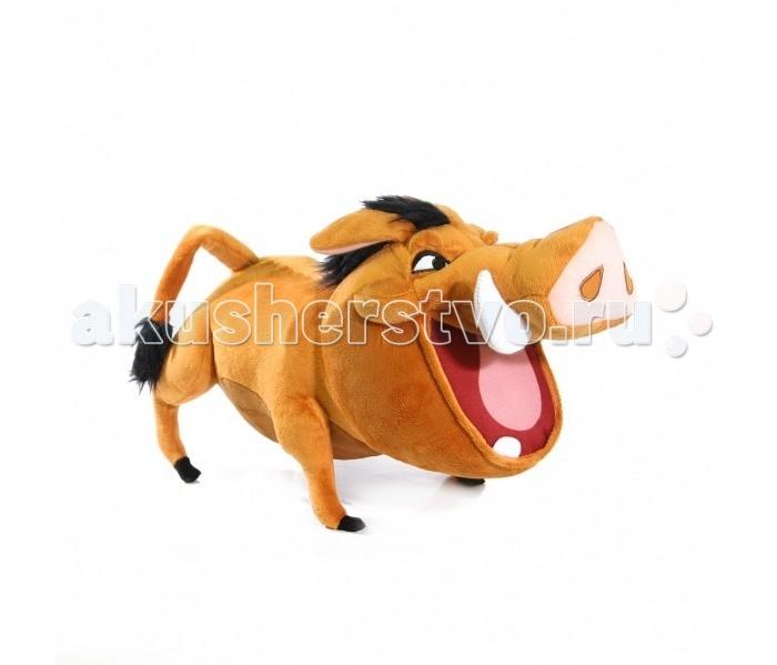 Мягкая игрушка Disney Пумба 50 смПумба 50 смМягкая игрушка Disney Пумба озвученная - это игрушка от которой ваш ребенок придет в восторг. Игрушка изготовлена из безопасных высококачественных синтетических материалов, которые абсолютно безвредны для ребенка.   Особенности: Модель способствует развитию у детей воображения, усидчивости, тактильной  Компактную и легкую игрушку малыш всегда сможет брать с собой на прогулку. Крепкие швы надежно удерживают набивку игрушки внутри.  Такая очаровательная игрушка окажется хорошим подарком не только детям, но и взрослым.<br>