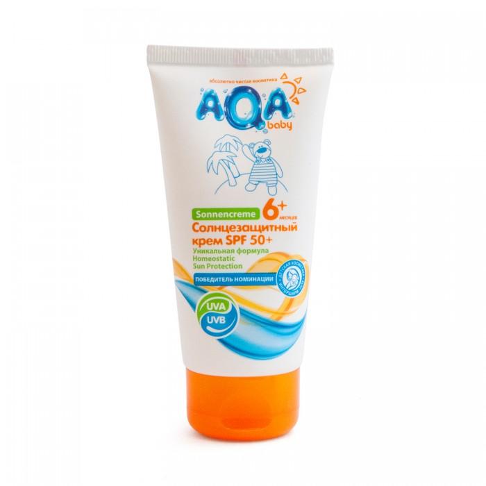 AQA baby Солнцезащитный крем SPF 50+ 75 мл