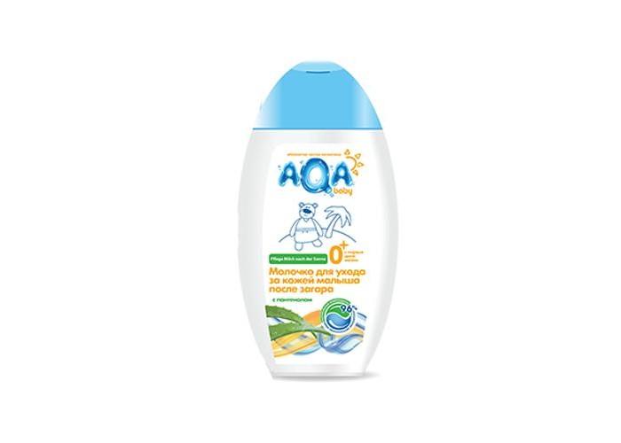 AQA baby Молочко для ухода за кожей малыша после загара 250 мл