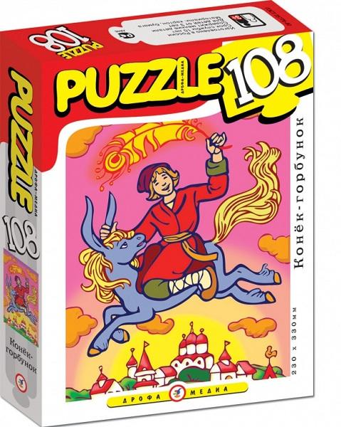 Пазлы Step Puzzle Мини-пазлы Конек-Горбунок 108 шт.