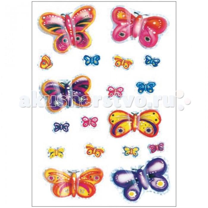 Herma Наклейки объемные 16х9 см Magic 3D Бабочки
