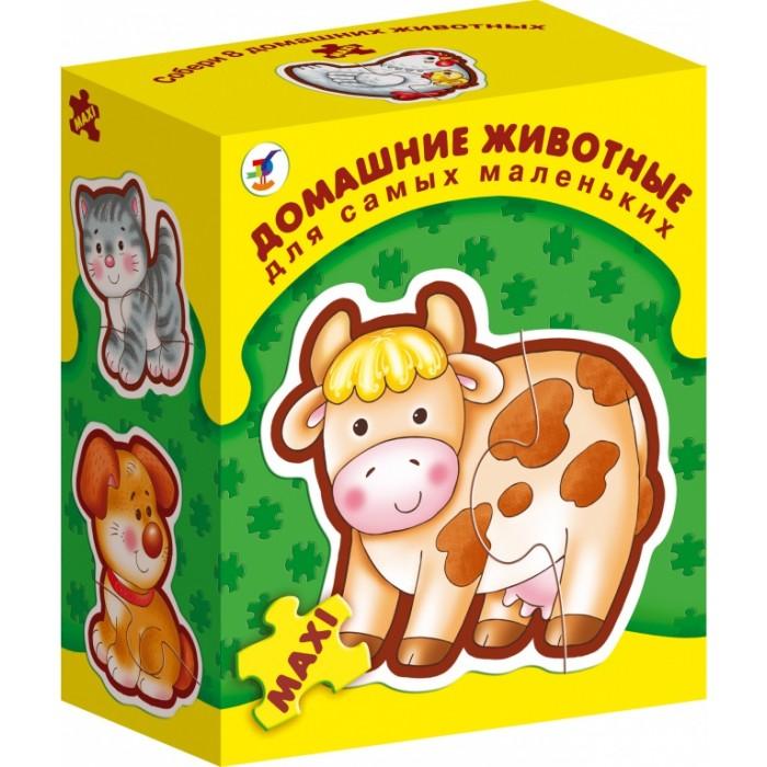 Дрофа Пазлы Домашние животные серия Для самых маленьких