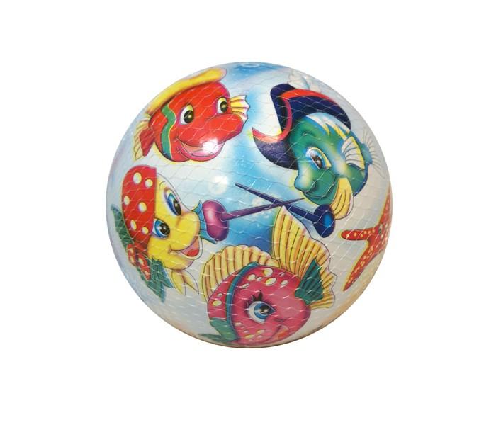 Maxitoys Мяч Дружные рыбки 23 см
