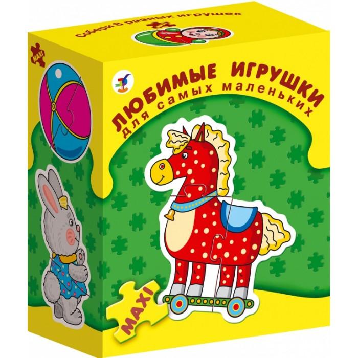 Дрофа Настольная игра Любимые игрушки серия Для самых маленьких