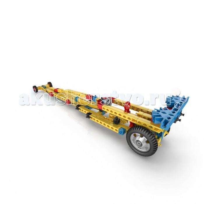 Конструктор Engino Mechanical Science Сила энергия и движениеMechanical Science Сила энергия и движениеEngino Mechanical Science Сила, энергия и движение.  Узнай всё о законах Ньютона и преобразовании энергии. Открой секреты движения и импульса, исследуй мир потенциальной и кинетической энергии и узнай, как перевести одну в другую.   Этот набор предлагает 6 рабочих моделей для сборки, таких как гоночный автомобиль с приводом от эластичной ленты, автомобиль для краш-теста, автомобиль с подвижной кабиной, катапульту, вентилятор, работающий от силы тяжести и летающий самолет, работающий на энергии воздушного шарика!<br>