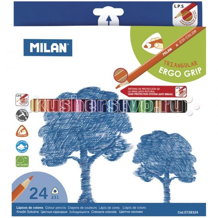 Milan Карандаши 231 24 цвета