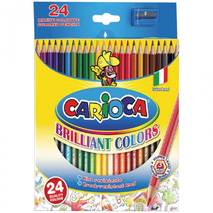 Carioca Карандаши 24 цвета