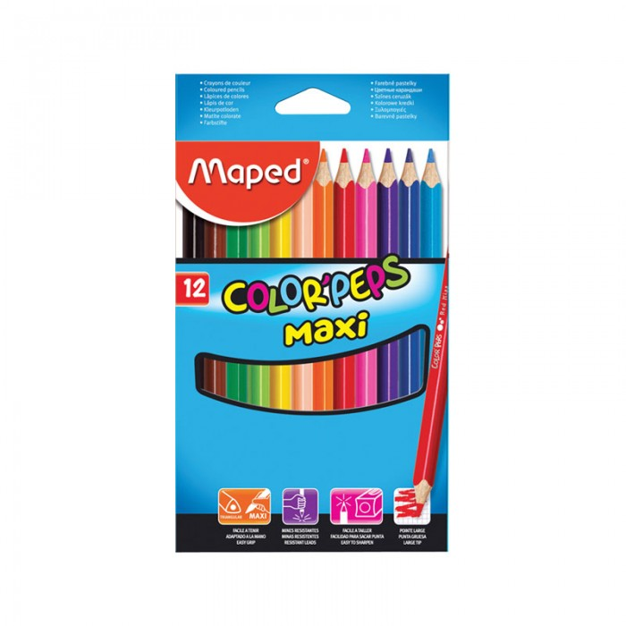 Maped ��������� Color Peps Maxi 12 ������