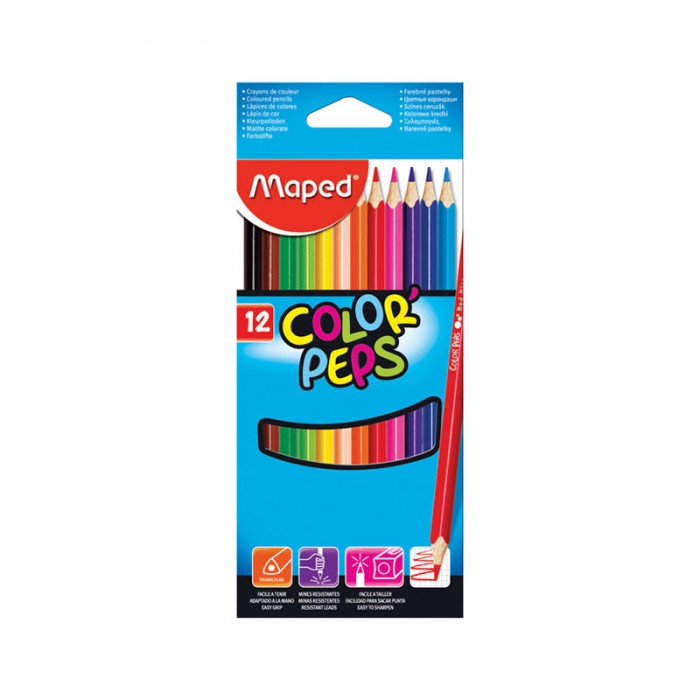 Maped ��������� Color Peps 12 ������