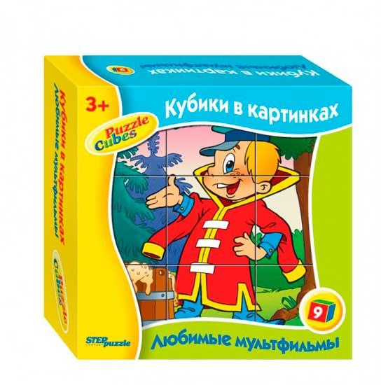 Дрофа Кубики Любимые мультфильмы - 5
