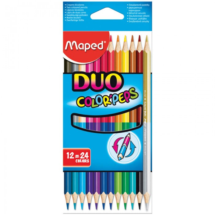 Maped ��������� Color Peps Duo ������������� 24 ����� 12 ��.