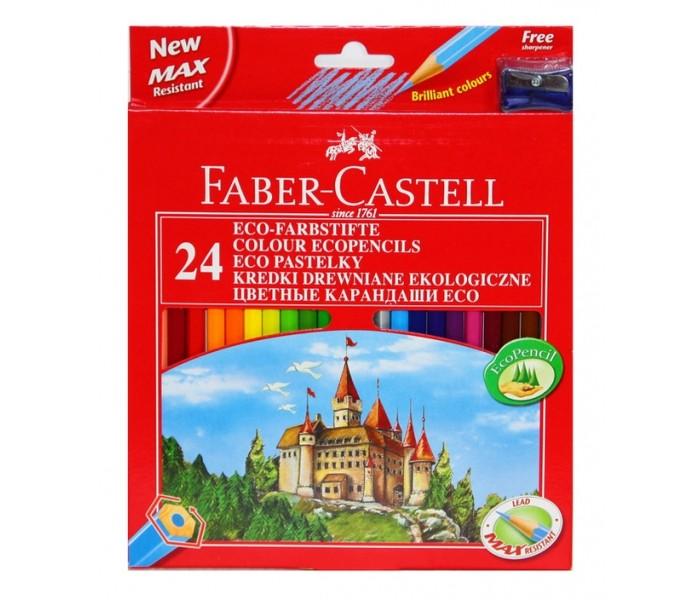 Faber-Castell Карандаши Eco Замок 24 цвета