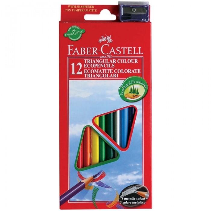 Faber-Castell Карандаши Eco 12 цветов