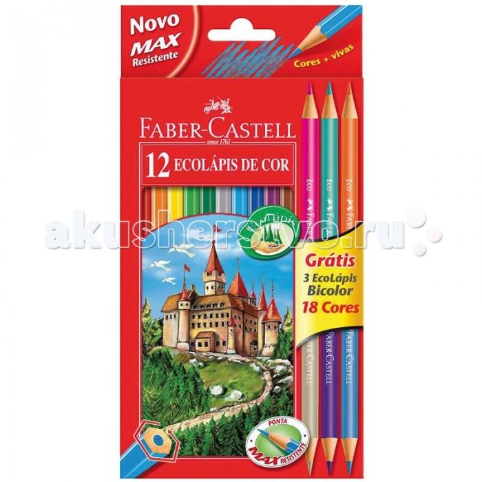 Faber-Castell Карандаши Eco 18 цветов