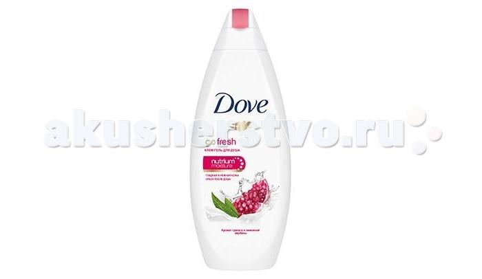Dove Крем-гель для душа Пробуждение чувств 250 мл (гранат и лимонная вербена)