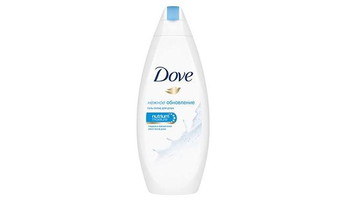 Dove Гель-скраб для душа  Нежное обновление 250 мл