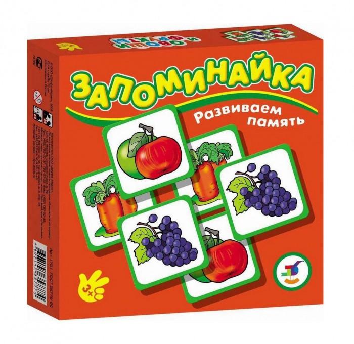 Дрофа Настольная игра Овощи и фрукты