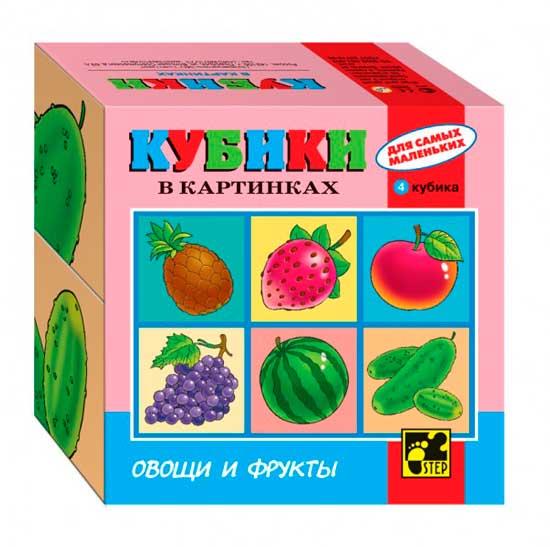 Дрофа Кубики для самых маленьких Серия №3
