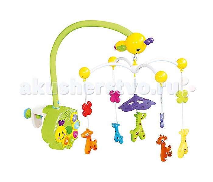 Мобиль Leader Kids LK0101LK0101Мобиль Leader Kids LK0101   С очаровательной каруселью от Lider Kids ваша кроха начнёт познавать мир с первых дней жизни. Разноцветные зверята и яркие цветочки в сочетании с музыкальными и цветовыми эффектами успокоят малыша и привлекут его внимание. Кроме того, представленная модель имеет несколько режимов вращения.<br>