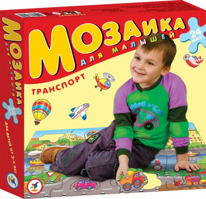 Дрофа Пазлы Транспорт серия Мозаика для малышейПазлы Транспорт серия Мозаика для малышейКрупные и яркие детали мозаики удобно собирать на полу. Ребёнок научится складывать сюжетную картинку из нескольких частей и подбирать подходящие по форме недостающие фрагменты рисунка. Игры развивают зрительное восприятие, образное мышление и мелкую моторику рук, расширяют кругозор, познакомят малышей с разными животными, морскими обитателями, буквами, цифрами и счётом в пределах десяти. Набор из 12 крупных пазловых элементов, внутри каждого пазла вырублена фигурка. Можно использовать как рамку с фигуркой-вкладышем. Размер собранного поля 70х50 см.<br>