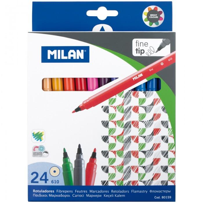 Фломастеры Milan 610 24 цвета
