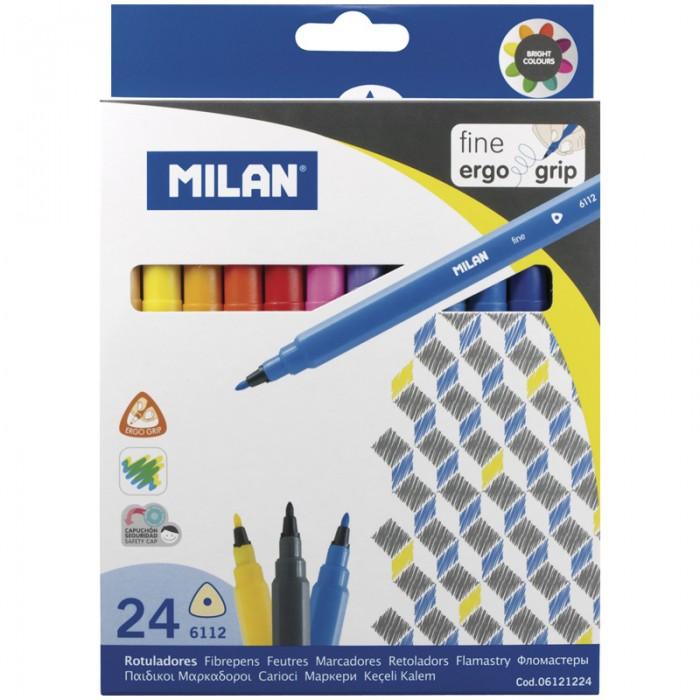 Фломастеры Milan 6112 24 цвета