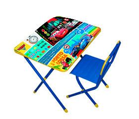 Столы и стулья Дэми Disney Набор мебели №2 Молния Маккуин (Тачки 2)