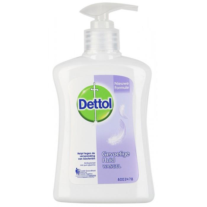 Dettol Для чувствительной кожи с глицерином Антибакт. жидкое мыло для рук 250 мл
