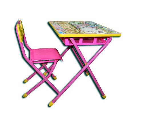 Столы и стулья Дэми Disney Набор мебели №2 Принцессы (Белоснежка)