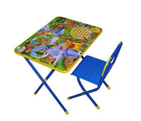 Столы и стулья Дэми Disney Набор мебели №3 Молния Маккуин (Тачки)