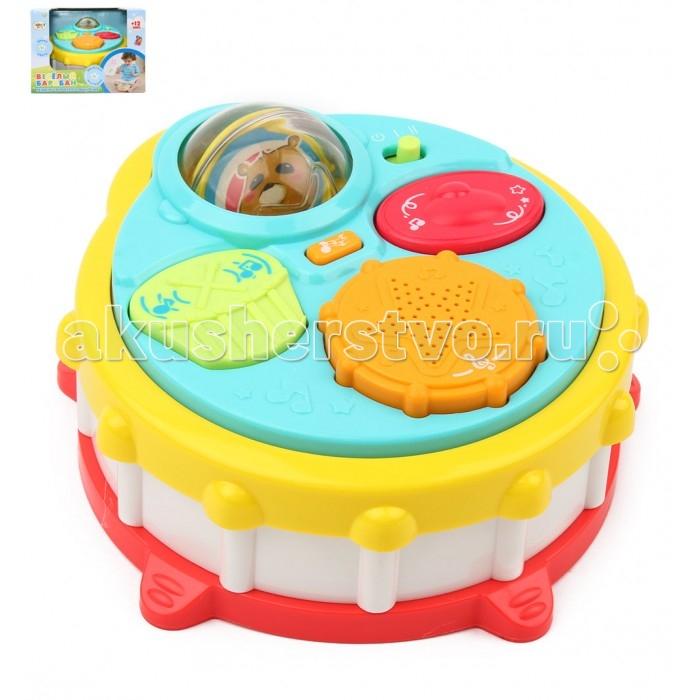 Музыкальная игрушка Leader Kids Веселый барабанВеселый барабанМузыкальная игрушка Leader Kids Веселый барабан которая развлечет вашего малыша.  Нажимая на музыкальные инструменты малыш активирует различные мелодии.  Игрушка работает от 2 батареек типа АА (входят в комплект).<br>