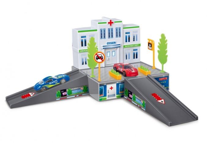 Dave Toy Игровой набор Больница с 1 машинкой