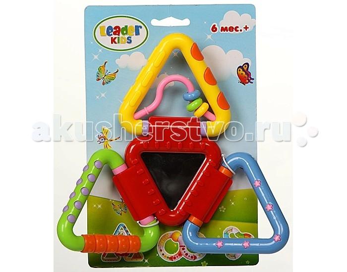 Развивающая игрушка Leader Kids LKP02-3LKP02-3Развивающая игрушка Leader Kids LKP02-3 создана для малышей от шести месяцев, ее очень удобно удерживать маленькой ручкой, можно складывать и раскладывать.   Она познакомит ребенка с цветами, формами и, характерными для погремушек, звуками.   Эту игрушку удобно брать с собой на прогулку, чтобы в нужный момент отвлечь ребенка.<br>