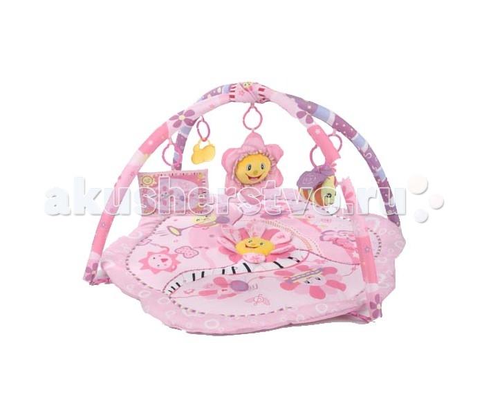 Развивающий коврик Leader Kids Розовый сон