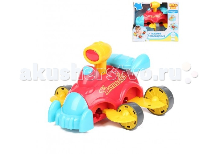 Little Tot Игрушка для ванны Водные превращения