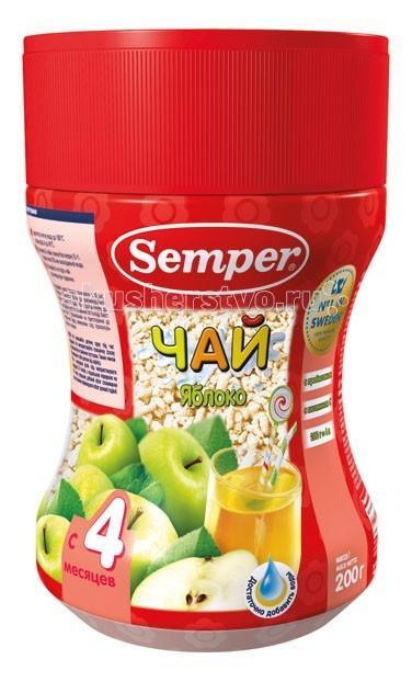 Чай Semper Детский чай Яблоко с 4 мес. 200 г