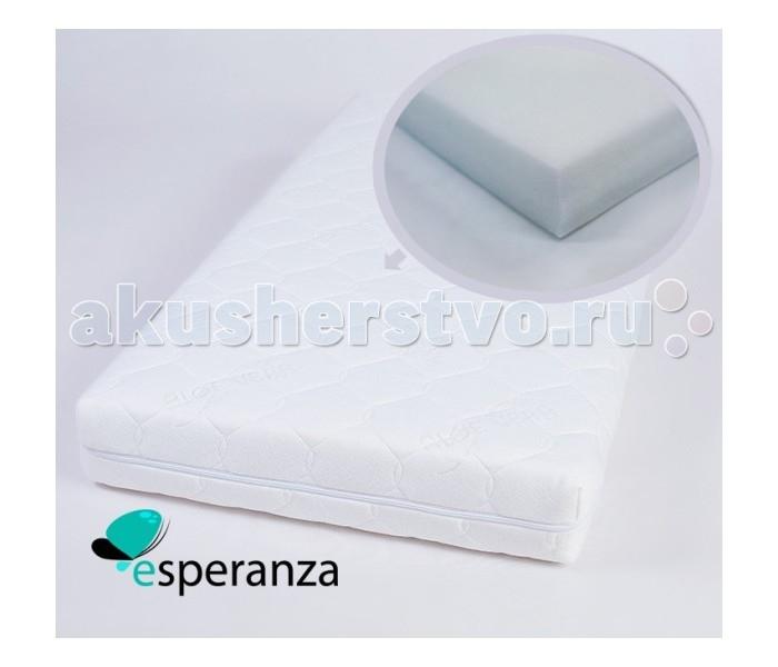 Матрас Esperanza Agevole 120х60х8Agevole 120х60х8Детский матрас Esperanza Agevole. Выполнен из натуральных и экологически чистых материалов.  Матрас Esperanza Agevole получился очень легким, упругим, равномерно наполненным и недеформирующимся благодаря холкону – инновационному синтетическому материалу, который совершенно не впитывает влагу и запахи, обеспечивает оптимальный климатический фон и не вызывает аллергии. Это безупречное и безопасное решение для самых маленьких.  Холлкон — этот материал удивителен сам по себе: каждое волокно в нем складывается спиралью, в результате получается огромное количество маленьких пружинок, которые скрепляются между собой безо всякого клея и других веществ. В результате— никаких аллергических реакций, материал не впитывает влагу и запахи, к тому же он теплый, пушистый и мягкий на ощупь.<br>