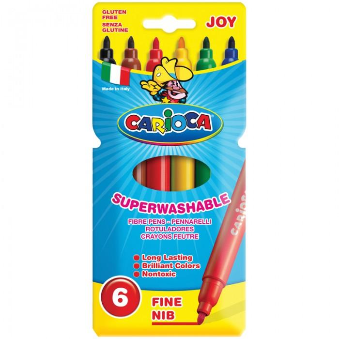 Фломастеры Carioca Joy 6 цветов